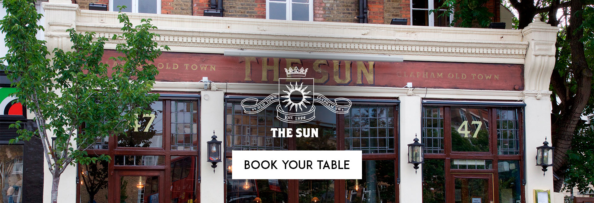Book Your Table at The Sun